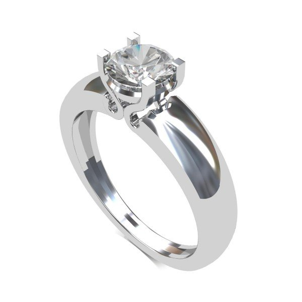 Solitaire Engagement Rings For Men