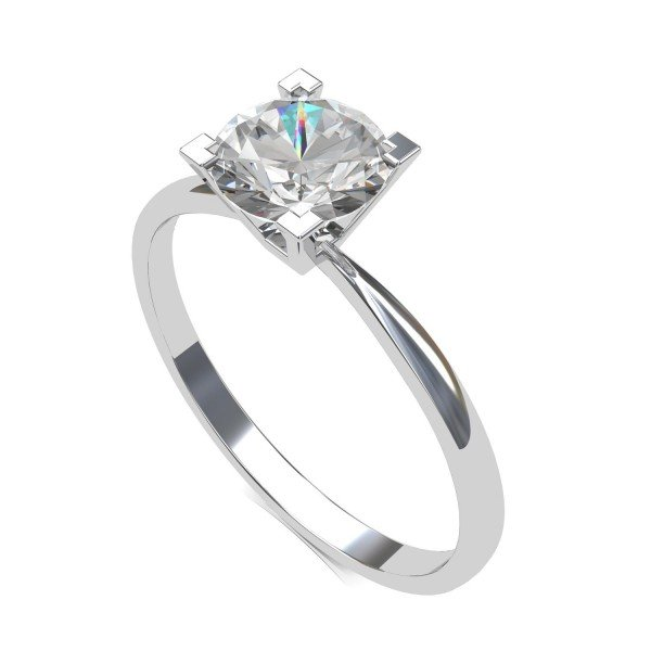 Infinity Solitaire Rings