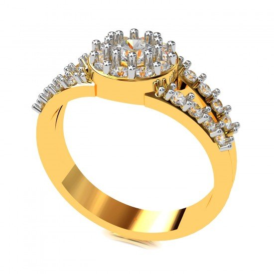 Solitaire Wedding Engagement Ring