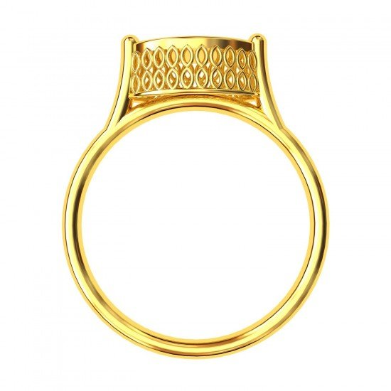 Marquise Granular Cocktail Ring