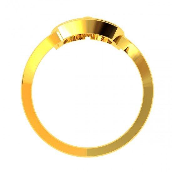 Mata Ji American Diamond Ring