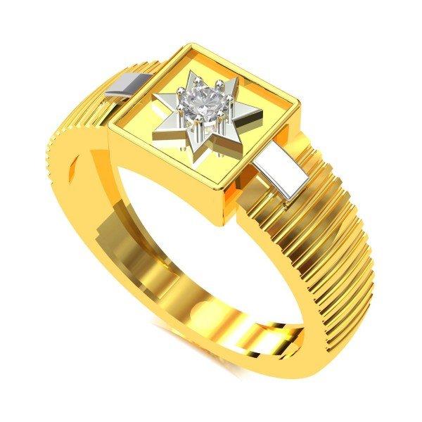 Engagement Rings Gold For Men