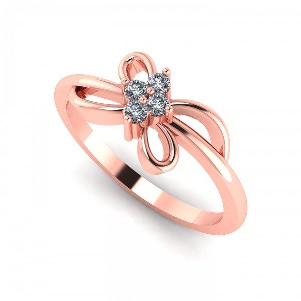 Rose Gold Ring For Girl