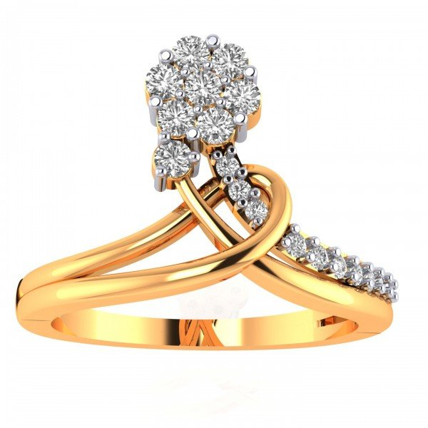 Artificial Diamond Cluster Ring