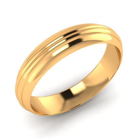 Solid Gold Band Ring