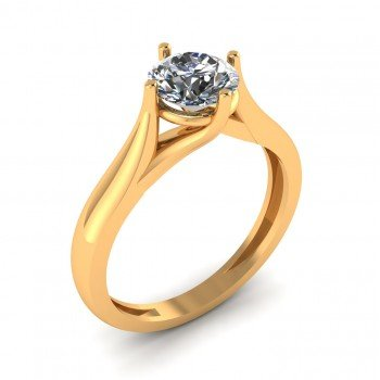 Stylish Solitaire Ring