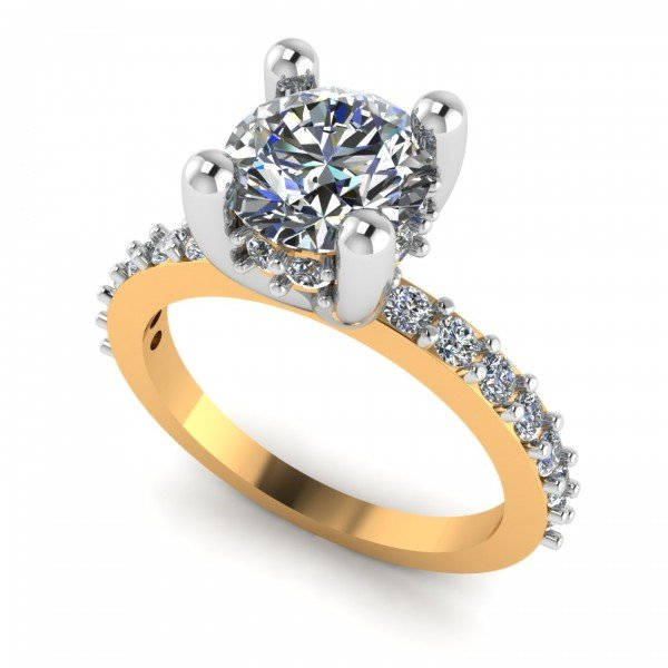 Solitaire Ring For Her
