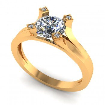 Solitaire Ring For Ladies
