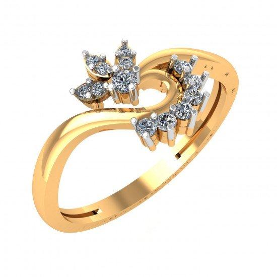 14K Gold Ring For Women