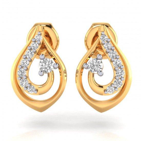 Gold Earring For Girl
