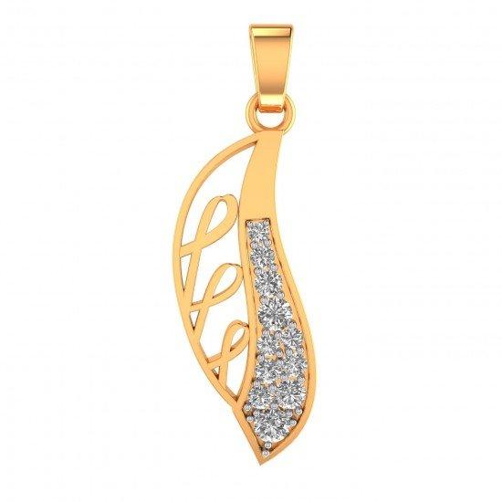 Latest Design Stylish Gold Pendant